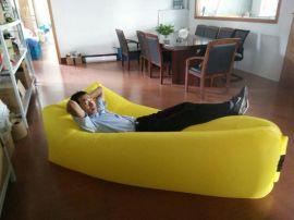懒人充气沙发床lamzac户外空气沙发水上漂床单口双胆
