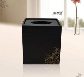 厂家供应树脂纸巾盒 **酒店卫浴用品 树脂卫浴套装 树脂工艺品