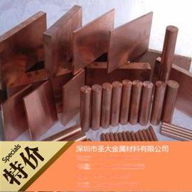 進口C18100鉻鋯銅板 強導電導熱QCr0.5 磨光鉻鋯銅棒