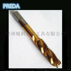 含钴M35镀钛丝锥 机用丝攻 先端不锈钢丝攻 丝锥 螺旋槽丝锥