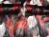 正太毛绒+彩色提花长毛皮