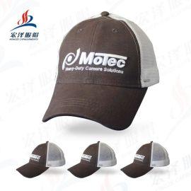 帽子批发 户外活动宣传遮阳鸭舌帽网眼帽防晒运动透气货车帽