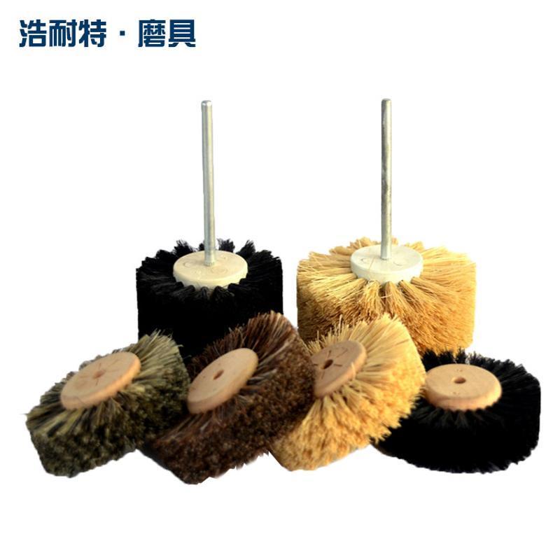 定製進口杜邦絲打磨花頭磨 料絲木雕紅木傢俱根雕浮雕拋光刷