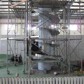 厂家专业订制 楼层输送机 链板螺旋输送机 电商螺旋机输送 性能稳定