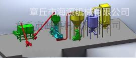 章丘海源2015新款PHJ75预糊化淀粉膨化机