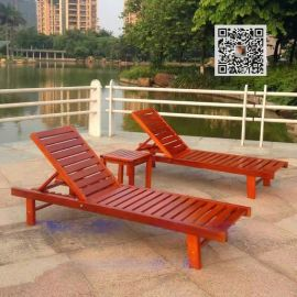 北海户外海滩椅木 沙滩椅厂家直销
