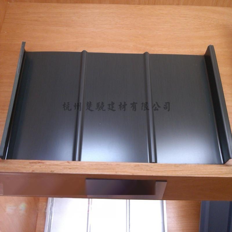 石墨灰鈦鋅板 直立雙鎖邊屋面板 鈦鋅板廠家直銷