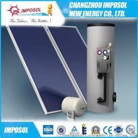 厂家直销高层太阳能供热工程用平板太阳能热水器