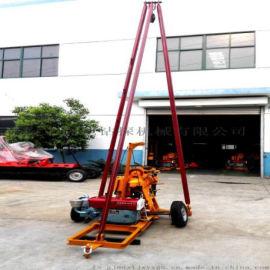 两轮拖挂三角架钻塔,T2-SJ-3型三角架钻塔