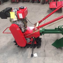 手扶履带式微耕机,开沟施肥松土链轨管理机