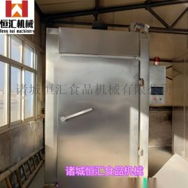 YX-500鱼豆腐烟熏炉特点 鱼类蒸煮炉厂家