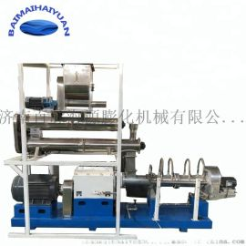 小型鱼饲料膨化机  水产饲料生产设备
