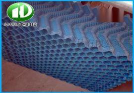 高温散热玻璃钢冷却塔填料PVC凉水塔斜交错填料