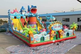 陕西西安大型充气玩具生产厂家 儿童充气城堡批发