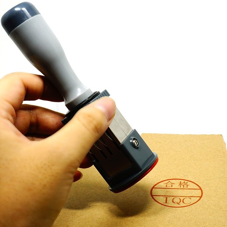 QC印章可调日期印章40mm