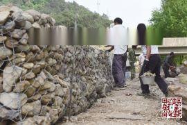 包塑石笼网箱护岸 防洪石笼网挡墙 水库修复石笼网护垫