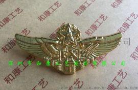 航空飞行翅膀胸章制作,定制飞行胸章