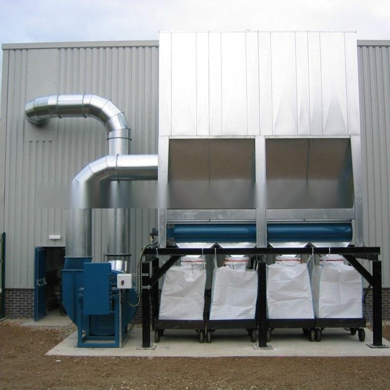 家具厂  脉冲布袋除尘器 中央集尘系统生产厂家
