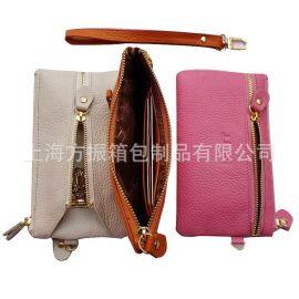 上海供应真皮多功能钥匙零钱包 钱包 卡包 定做厂家供应
