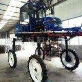 大型农用四轮打药机自走式喷雾器高架玉米打药机效率高