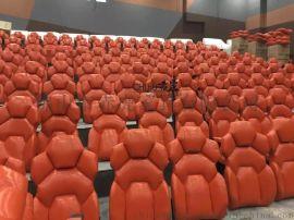 影院沙發座椅 高端連排座椅 款式多樣 可折疊的影院椅佛山赤虎工廠
