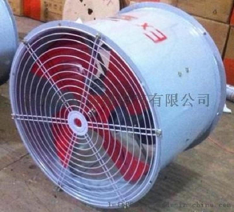圓桶三相防爆壁式通風機