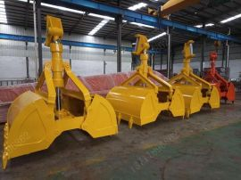SK200 挖掘机 贝型抓斗(10吨-75吨位挖机)Excavator Clamshell Bucket