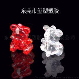 透明动物亚克力水晶饰品东莞水晶饰品