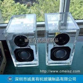 有机玻璃音箱盒 亚克力音响包装盒 透明乐器盒