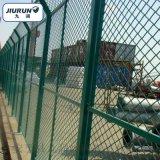 钢板网护栏 菱型网护栏 保税区隔离网