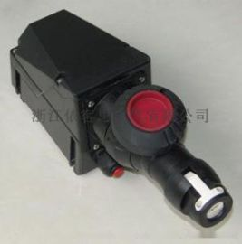 订做4芯防爆防腐插销BCZ8050 全塑防爆插座