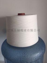 大有光固体腈纶纱 山东众赫10支腈纶纱 环纺腈纶纱