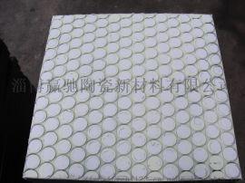 抗冲击耐磨损圆筒混料机陶瓷衬板