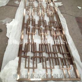 福州厂家加工 家居屏风隔断 电镀不锈钢屏风
