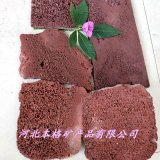 本格廠家供應 紅色火山石板 亂形石 玄武岩板材