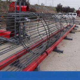 山西钢筋笼绕筋机钢筋笼成型机绕筋间距可调