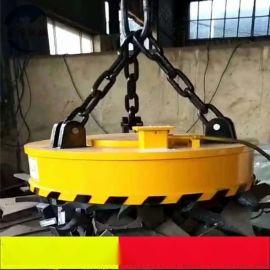 供应圆形电磁吸盘 强磁吸力起重设备