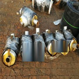 包头 鑫龙日升 聚氨酯发泡管DN600/630聚乙烯黑夹克聚氨酯保温管