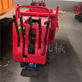 小型履带式手扶运输车 手扶全地形爬山虎机履带运输车