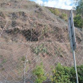 护坡钢丝绳网-护坡钢丝绳防护网-护坡钢丝绳网厂家