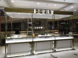 商場珠寶展櫃設計制造 珠寶櫃臺 輕奢品貨架制作