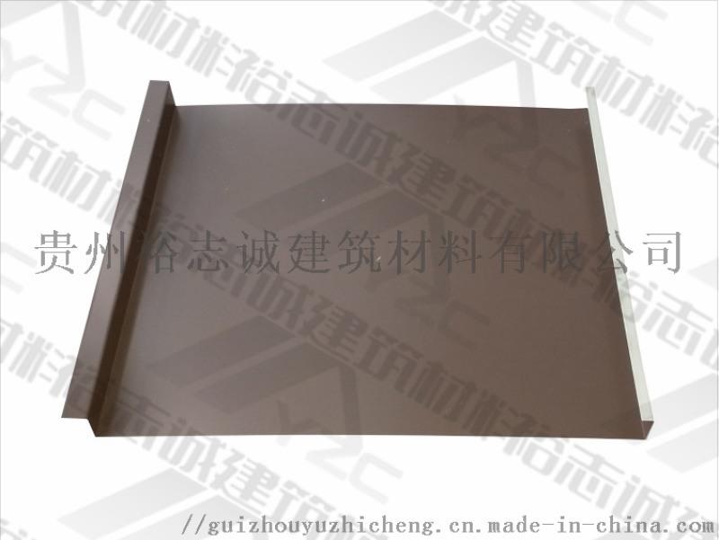 供应贵州铝镁锰板矮立边屋面系统25-430厂家