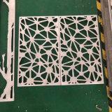 萬字格仿古木紋鋁窗花 直角形仿古鋁窗花圖片