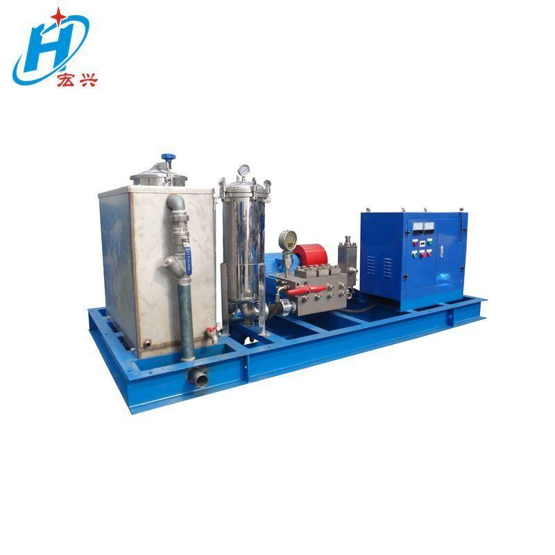進口泵汽車格柵板除油高壓清洗機