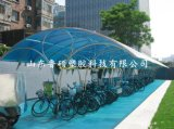 青島pc陽光板 車棚雨棚