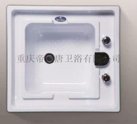 帝风唐足浴盆嵌入式ABS足疗盆洗浴中心沐足盆