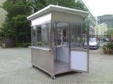 不锈钢岗亭设计制作安装公司