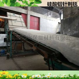 山东龙盛硅酸铝针刺毯在供热管网上的应用