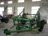 3吨液压式放线车/电缆线盘放线车/5吨线盘放线拖车