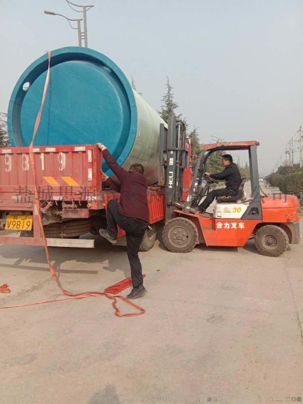 江省一体化预制泵站地埋式安装